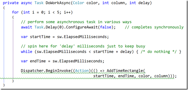 async-completed synchronously config await false code