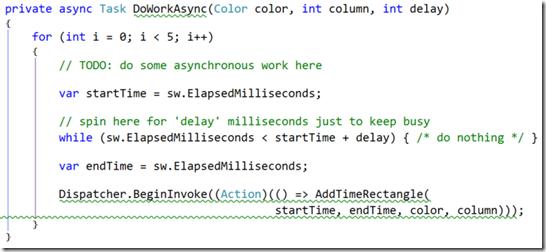 no-async code